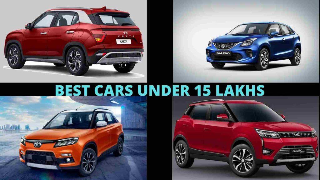 Best Cars Under 15 Lakh